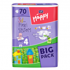 SCUTECE NR. 4 HAPPY BIG PACK 70BUC