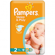 Scutece Pampers nr. 2 Sleep and Play 68 buc