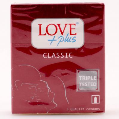 PREZERVATIVE LOVE PLUS 3BUC