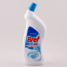 DEZINFECTANT TOALETA BREF WC GEL 750ML