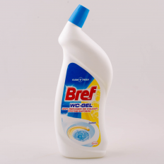 DEZINFECTANT TOALETA BREF WC GEL 750 ML