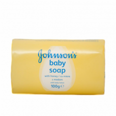 SAPUN JOHNSONS BABY CU MIERE 100G